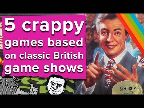 5 crappy games based on classic British game s  Eurogamer Retro