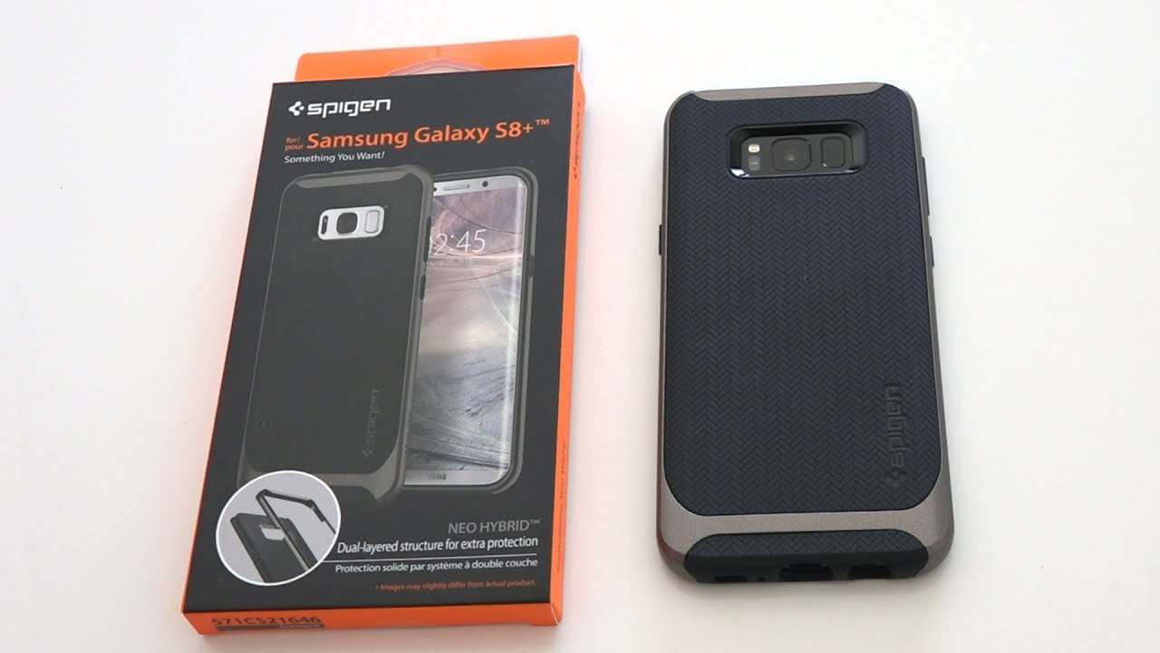 best website fd229 4382d Galaxy S8 & S8+ Spigen Neo Hybrid Review - YouTube
