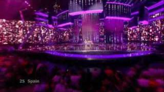 Eurovision 2009 Final - Spain - Soraya - La Noche Es Para Mi (The Night Is For Me)