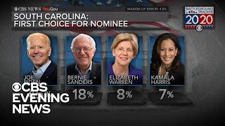 CBS News poll: Joe Biden leads as top choice in the Democratic nomination