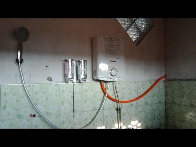Cara Instalasi Memasang Pemanas Air Sederhana Dirumah Youtube