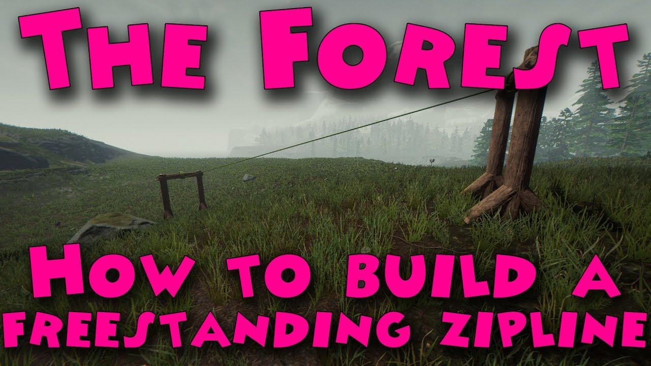 how to build a zipline youtube
