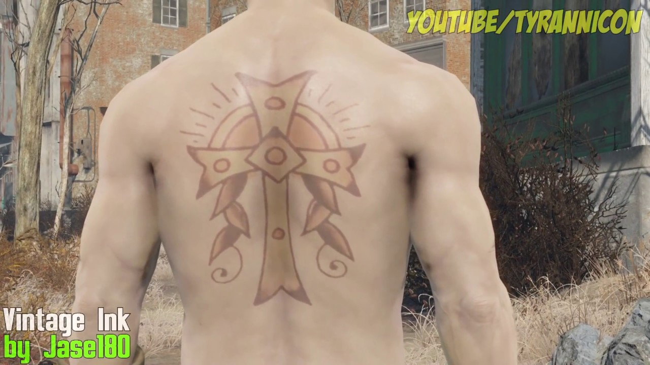 Fallout 4 Top 10 Tattoo Mods Youtube