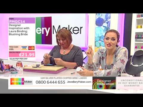 [How to make Wirework Bridal Jewellery] - JewelleryMaker DI 26/8/14