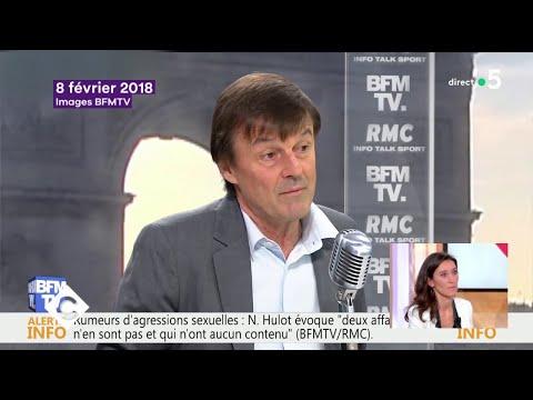 Le blues de Nicolas Hulot - C à Vous - 17/05/2018