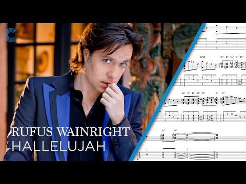 Piano  Hallelujah  Rufus Wainwright  Sheet Music, Chords, & Vocals