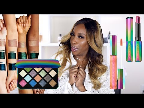 Fenty Beauty Galaxy Collection? Hmmm... | Jackie Aina