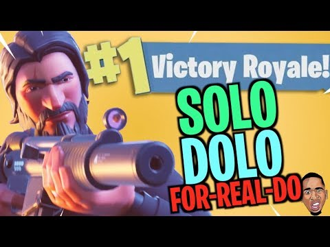 PROVING I CAN CARRY MYSELF! Fortnite Battle Royale SOLO!