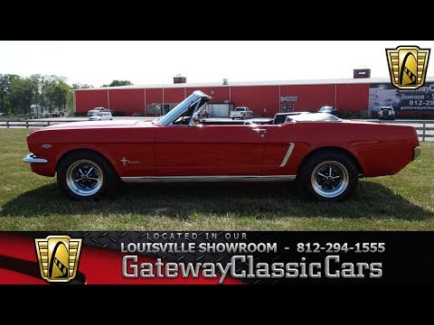 1965 Ford Mustang Convertible - Louisville Showroom - Stock # 1611