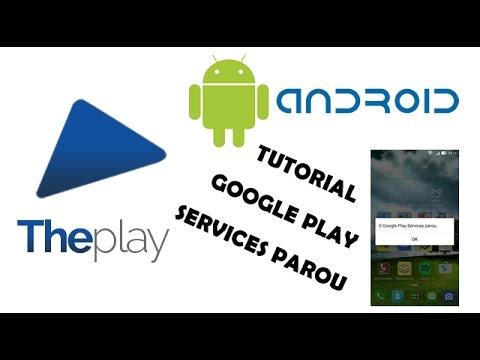 Resolvendo Erro Google Play Services Parou