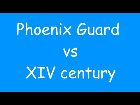 Fianna Mercenaries - Phoenix Guard VS XIV century.