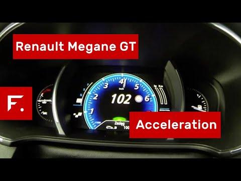 2017 Renault Megane GT 0-100, 0-150 Acceleration