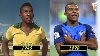 vuclip The Best Footballer Born In Every Year From 1939 - 2000 ⚽ Footchampion