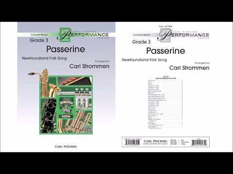 Passerine (CPS199) Arr. by Carl Strommen