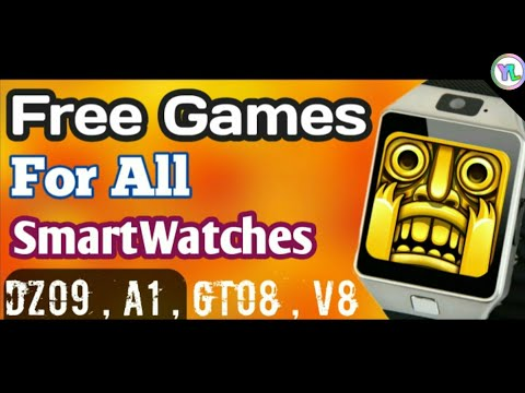How To Play Free Game In DZ09 Smartwatch | How to play free games in A1 , DZ09 ,V8 | You Look