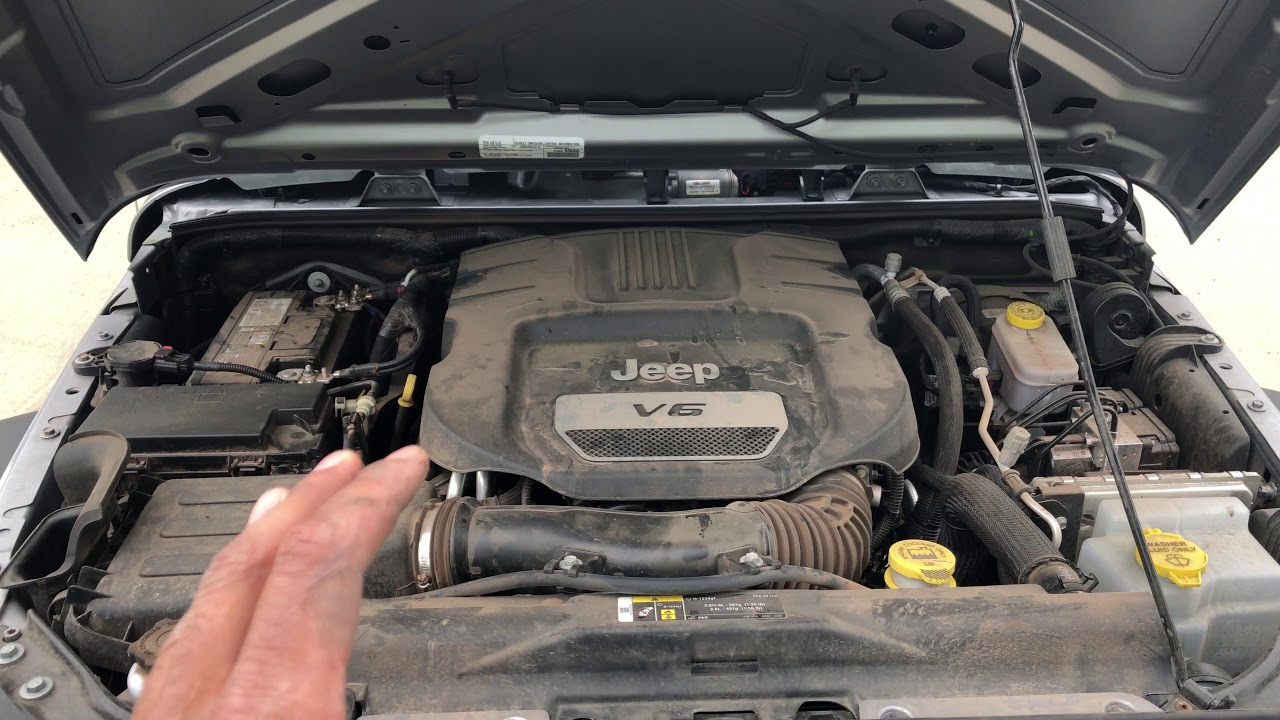 jeep wrangler - fuse box location