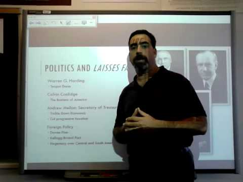 Lecture 43 The 1920s