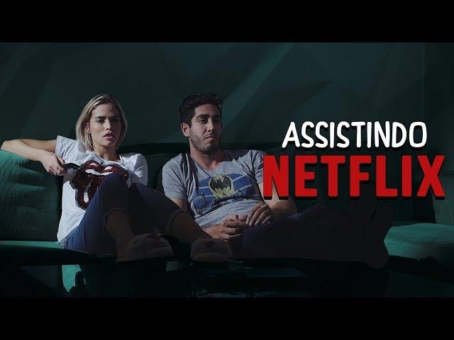 Assistindo Netflix - DESCONFINADOS (Erros no final)
