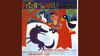 Peter and the Wolf, Op. 67: VIII. The Wolf Stalks the Bird and Cat