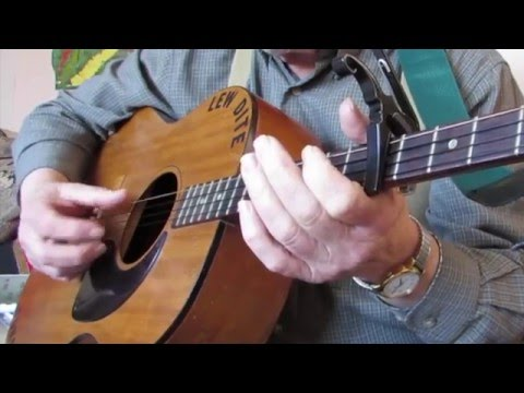 George Collins (tenor guitar thumb picking)