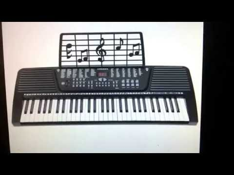 eBay - 61 Key Electronic Music Electric Keyboard Piano - Black