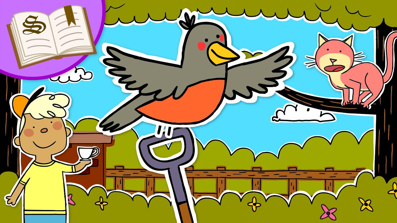 Little Robin Red Breast   Storytime in the Paper Puppet Playhouse