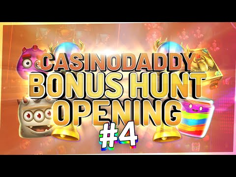 €12500 Bonushunt -  Casino Bonus Opening From Casinodaddy LIVE Stream #4