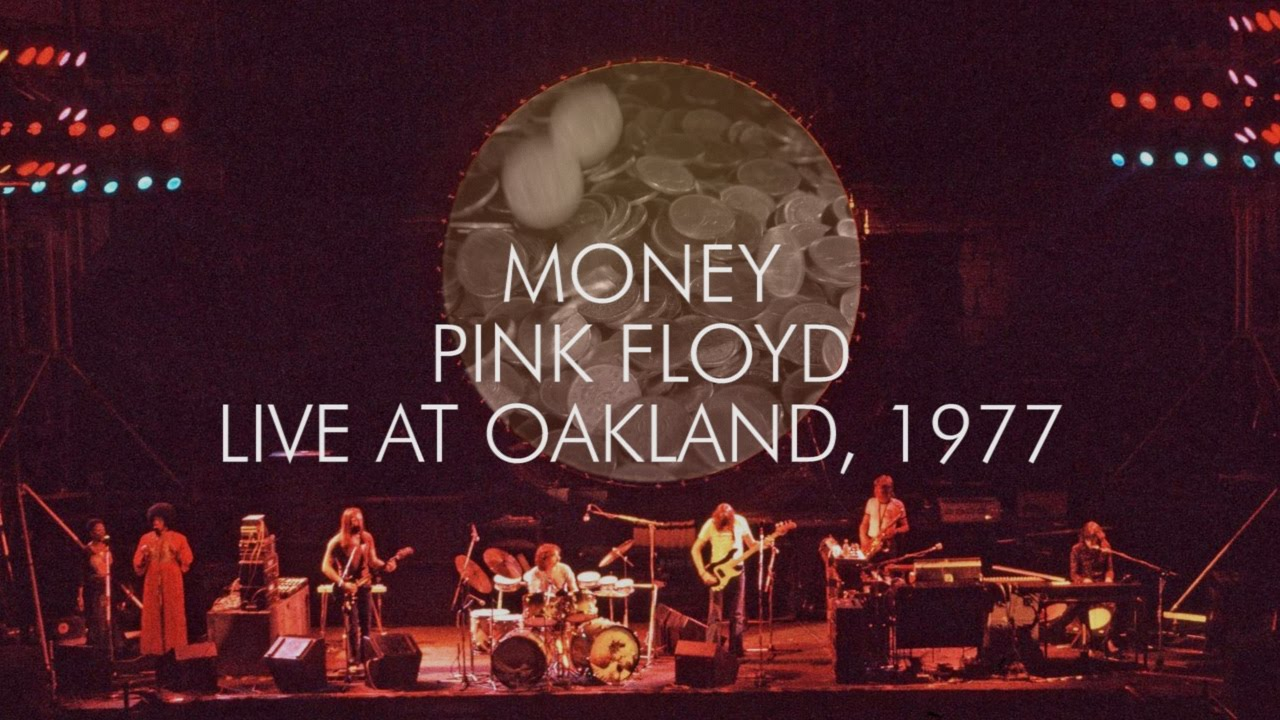 pink floyd money live at oakland youtube