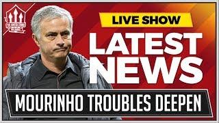 Mourinho Shambles Continues! Man Utd News Now