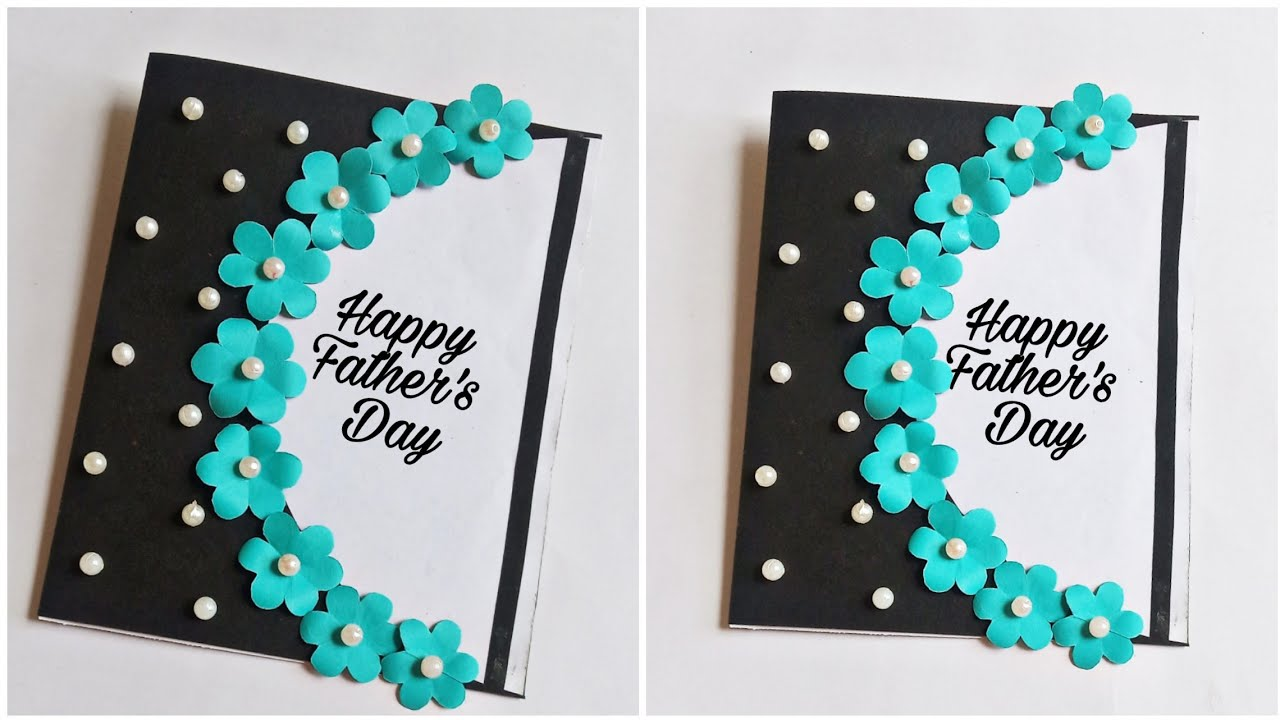 Father S Day Card How To Make Card For Father Handmade Father S Day Card Pop Up Card For Father Youtube