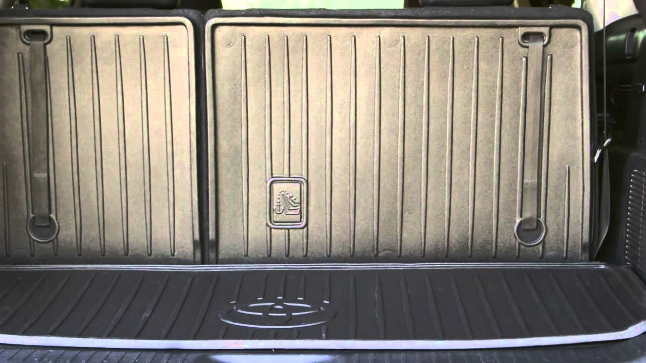 Seatback Cargo Liner  YouTube
