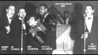 Five Delights aka The Mood Makers - The Thought Of Losing You / That Love Affair - Abel 228 - 1959