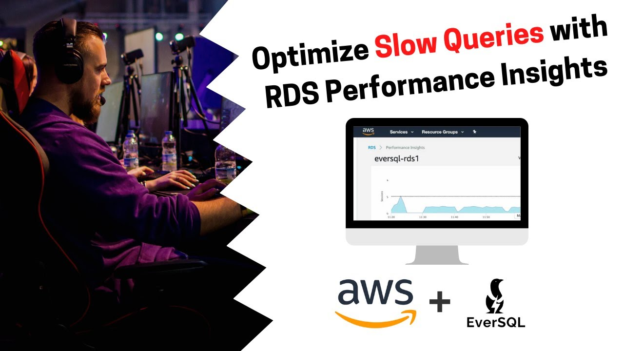 Optimize Slow Queries with RDS Performance Insights & EverSQL