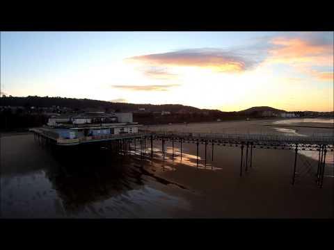 Colwyn Bay Beach and pier