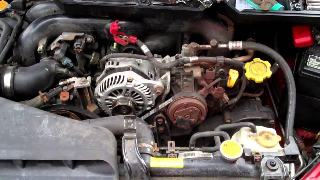How To Install Subaru Outback Alternator