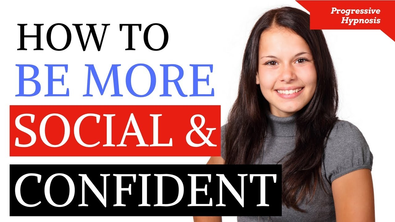 images How to Be Socially Confident