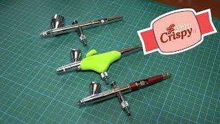 airbrush review iwata hp cs vs grex xgi vs infinity cr plus