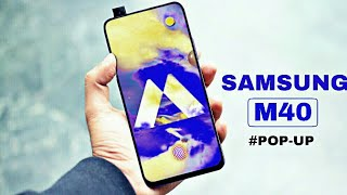 SAMSUNG M40 🔥 First look | Official first look | confirm specification |