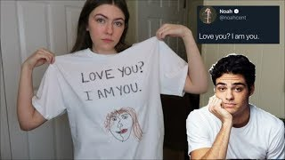 Turning Noah Centineo's Tweets Into T-Shirts