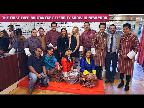 The first ever Bhutanese Celebrity Show in New York