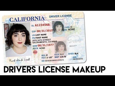 driver''s license makeup