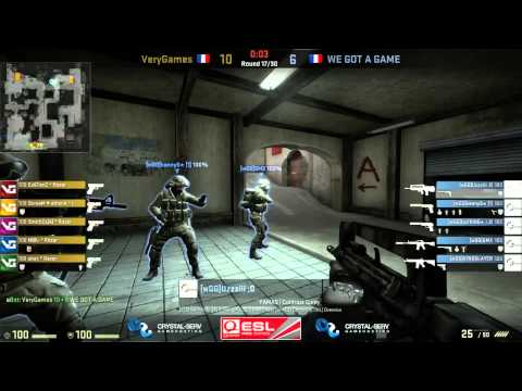 ESL Pro Series France Cup #4 Final: VeryGames vs WE GOT GAME (Game Two)
