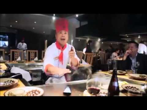 Hilarious Asian Chef Epic London Restaurant