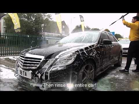 How to SUPER CLEAN Your Car Properly (Best car wash in the world)