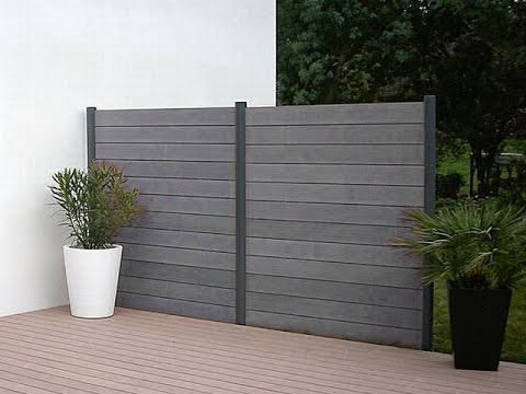 6 X 8 Wood Plastic Fence Panels In Barcelona Spai Youtube