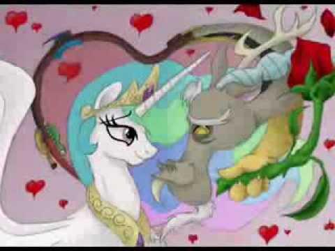 MLP FiM: Princess Celestia x Discord Tribute - YouTube