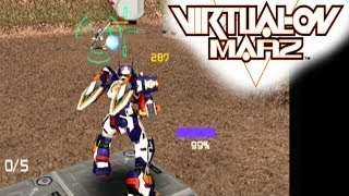 Cyber Troopers Virtual-On Marz ... (PS2)