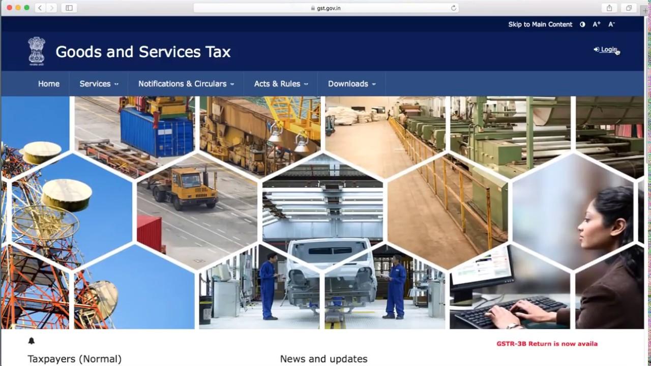 Filing of GSTR 3B Return, Generate GST Challan & Online Payment - Live  GSTIN
