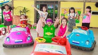 Kids Go To School | Chuns With Best Friends Play In Fairy Garden Children's Fun Game 2