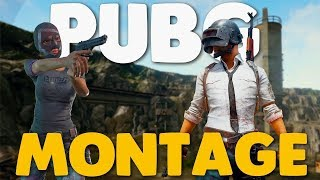 PUBG: Kill Montage! praise the 4x!